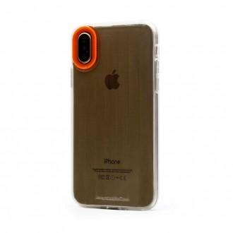 """Oranžinis dėklas """"Devia Yonger"""" Apple iPhone X / XS telefonui"""