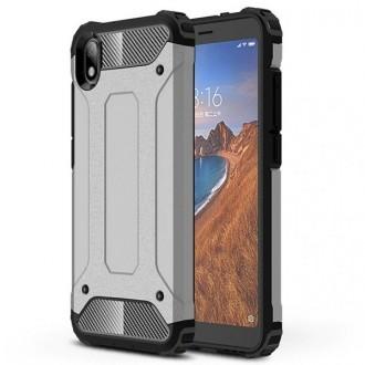 """Pilkas silikoninis dėklas Xiaomi Redmi 7A telefonui """"Armor Neo"""""""