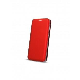 """Raudonas atverčiamas dėklas Huawei P30 telefonui """"Book Elegance"""""""