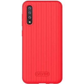 "Raudonas dėklas ""Araree Airdome"" Samsung Galaxy A505 A50 / A507 A50s telefonui"