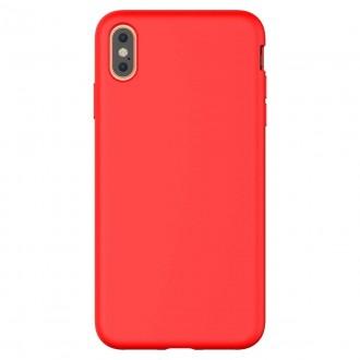 """Raudonas dėklas """"Araree Typo Skin"""" Apple iPhone XS Max telefonui"""