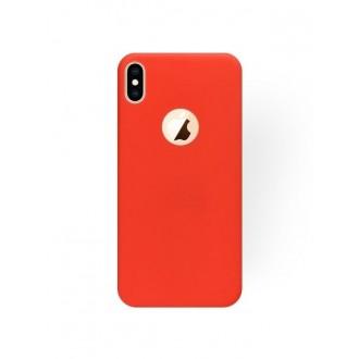 """Raudonas silikoninis dėklas Apple iPhone XS Max telefonui """"Silicone Cover"""""""