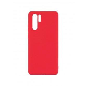 """Raudonas silikoninis dėklas Huawei P30 Pro telefonui """"Mercury Soft Feeling"""""""