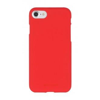 """Raudonas silikoninis dėklas Samsung Galaxy A21 telefonui """"Mercury Soft Feeling"""""""