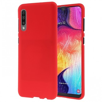 "Raudonas silikoninis dėklas Samsung Galaxy A505 A50 / A507 A50s / A307 A30s telefonui Mercury Goospery ""Soft Jelly Case"""