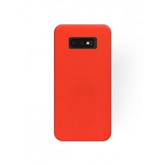 """Raudonas silikoninis dėklas Samsung Galaxy G970 S10e telefonui """"Silicone Cover"""""""