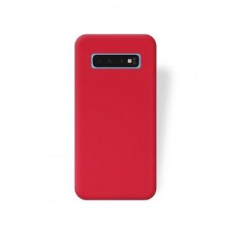 """Raudonas silikoninis dėklas Samsung Galaxy G973 S10 telefonui """"Silicone Cover"""""""