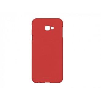 """Raudonas silikoninis dėklas Samsung Galaxy J415 J4 Plus 2018 telefonui Mercury Goospery """"Soft Jelly Case"""""""