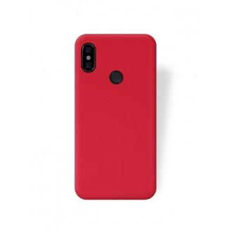 """Raudonas silikoninis dėklas Xiaomi Redmi Note 5 Pro  telefonui """"Jelly Flash Mat"""""""