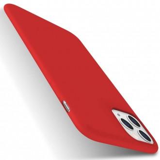 Raudonos spalvos dėklas X-Level Dynamic Apple iPhone 11 Pro Max telefonui