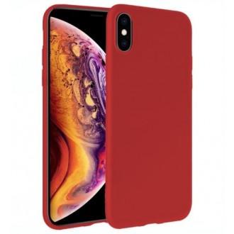 Raudonos spalvos dėklas X-Level Dynamic Apple iPhone 12 Pro telefonui