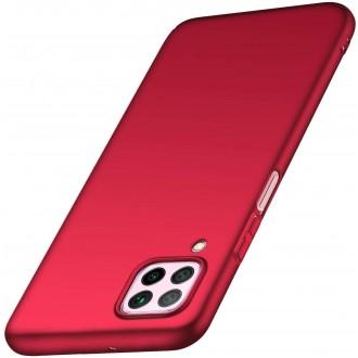 Raudonos spalvos dėklas X-Level Dynamic Huawei P40 Lite / Nova 6 SE / Nova 7i telefonui