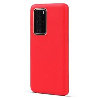 Raudonos spalvos dėklas X-Level Dynamic Huawei P40 telefonui