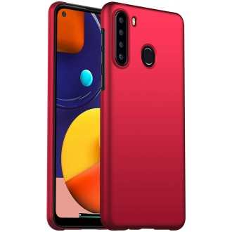 Raudonos spalvos dėklas X-Level Dynamic Samsung Galaxy A21 telefonui
