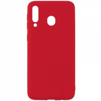 Raudonos spalvos dėklas X-Level Dynamic Samsung Galaxy A405 A40 telefonui
