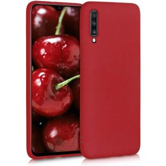 Raudonos spalvos dėklas X-Level Dynamic Samsung Galaxy A705 A70 telefonui