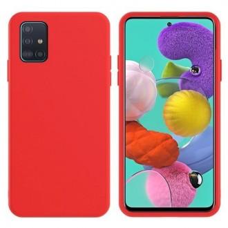 Raudonos spalvos dėklas X-Level Dynamic Samsung Galaxy A715 A71 telefonui