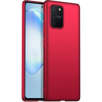 Raudonos spalvos dėklas X-Level Dynamic Samsung Galaxy S10 Lite / A91 telefonui