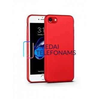 Raudonos spalvos dėklas X-Level Guardian Apple iPhone 6 / 6S telefonui