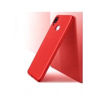Raudonos spalvos dėklas X-Level Guardian Huawei P20 Lite telefonui