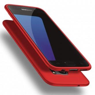 Raudonos spalvos dėklas X-Level Guardian Samsung Galaxy G930 S7 telefonui