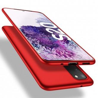 Raudonos spalvos dėklas X-Level Guardian Samsung Galaxy G981 S20 telefonui