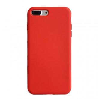 """Raudonos spalvos silikoninis dėklas Apple iPhone 12 telefonui """"Liquid Silicone"""" 1.5mm"""