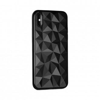 """Juodas silikoninis dėklas ''Prism"""" telefonui Xiaomi Redmi 7"""