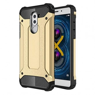 """Auksinis silikoninis dėklas Xiaomi Redmi 7 telefonui """"Armor Neo"""""""