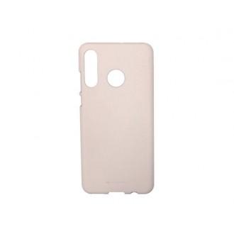 """Rožinio smėlio spalvos silikoninis dėklas Huawei P30 Lite telefonui """"Mercury Soft Feeling"""""""