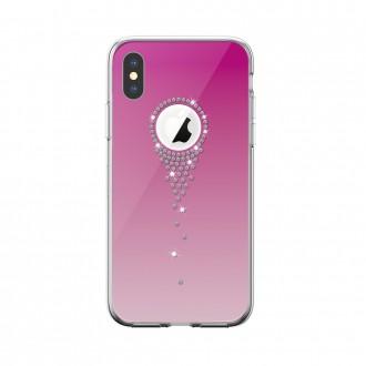 "Rožinis dėklas ""Devia Angel Tears"" Apple iPhone X / XS telefonui"