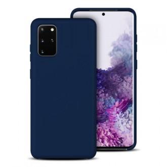 """Mėlynas silikoninis dėklas Samsung Galaxy G988 S20 Ultra telefonui """"Silicone Lite"""""""