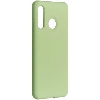 """Mėtos spalvos silikoninis dėklas Samsung Galaxy A405 A40 telefonui """"Liquid Silicone"""" 2.0mm"""