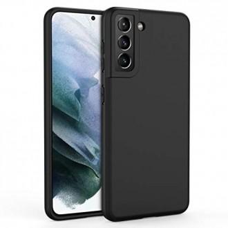 Juodas Dėklas Rubber TPU Naujajam Samsung S21 Plus / S30 Plus