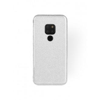 "Sidabrinis blizgantis silikoninis dėklas Huawei Mate 20 telefonui ""Shining"""