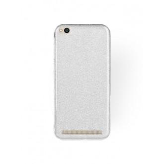 "Sidabrinis blizgantis silikoninis dėklas Xiaomi Redmi 5A telefonui ""Shining"""