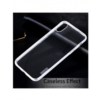 "Skaidrus dėklas Apple iPhone XR telefonui ""X-Level Antislip"""