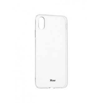 "Skaidrus dėklas Apple iPhone XS Max telefonui ""Jelly Roar"""