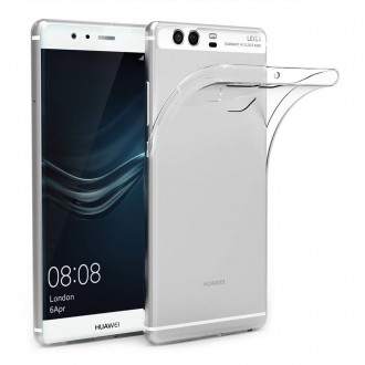 """Skaidrus dėklas Huawei P9 telefonui """"X-Level Antislip"""""""