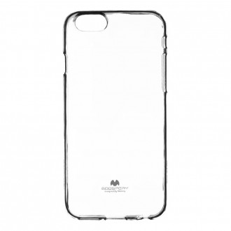 "Skaidrus dėklas Mercury Goospery ""Jelly Clear"" Apple iPhone 6 / 6s telefonui"