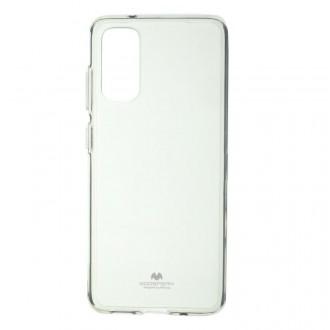 "Skaidrus dėklas Mercury Goospery ""Jelly Clear"" Samsung Galaxy G981 S20 telefonui"