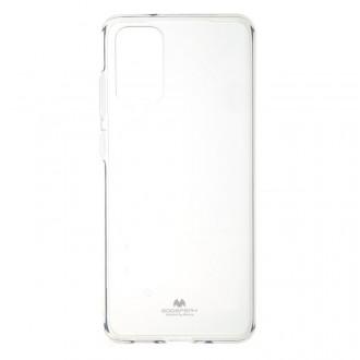 """Skaidrus dėklas Mercury Goospery """"Jelly Clear"""" Samsung Galaxy G986 S20 Plus telefonui"""