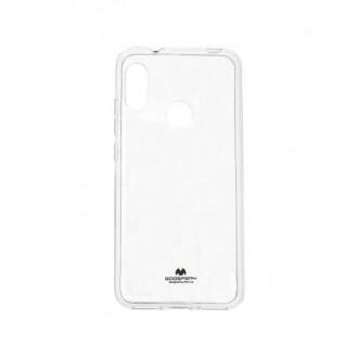"Skaidrus dėklas Mercury Goospery ""Jelly Clear"" Xiaomi Mi A2 Lite / Redmi 6 Pro telefonui"