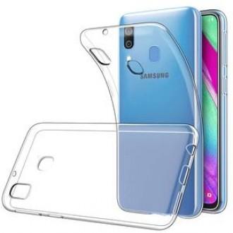 "Skaidrus dėklas Samsung Galaxy A405 A40 telefonui ""X-Level Antislip"""