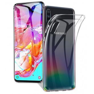 "Skaidrus dėklas Samsung Galaxy A705 A70 telefonui ""X-Level Antislip"""
