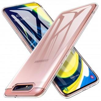 "Skaidrus dėklas Samsung Galaxy A805 A80 telefonui ""X-Level Antislip"""