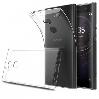 Skaidrus silikoninis dėklas X-Level telefonui Sony Xperia XA1 ULTRA