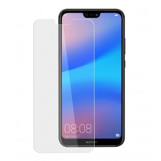 Skaidrus pilnai dengiantis apsauginis ekrano stiklas Nano Optics 5D UV Glue Huawei P20 Lite telefonui