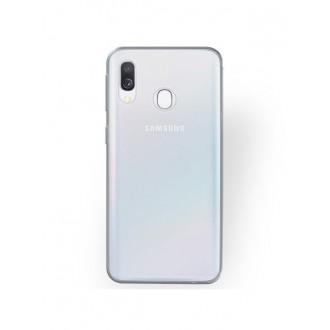 Skaidrus plonas 0,5mm silikoninis dėklas Samsung Galaxy A405 A40 telefonui