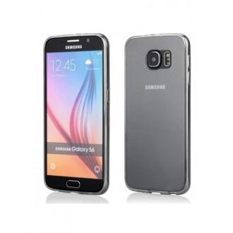 Skaidrus plonas 0,3mm silikoninis dėklas Samsung Galaxy S6 telefonui